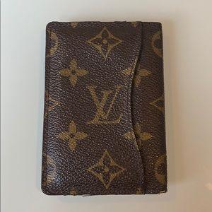 Louis Vuitton Wallet Card Holder